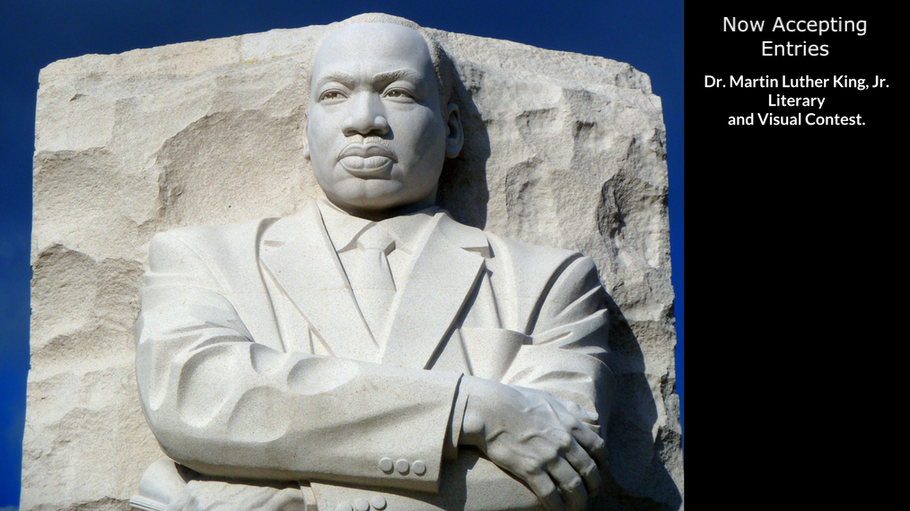 Now Accepting Entries for the 2019 Dr. Martin Luther King, Jr. Contest