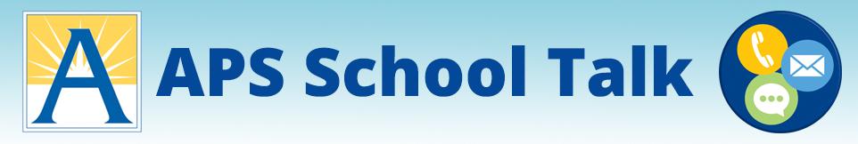 APS School Talk logo
