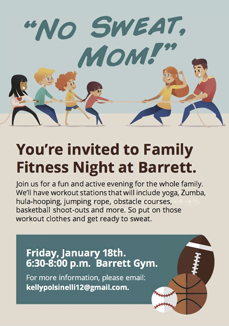 Family Fitness Image flyer