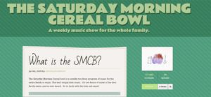 Saturday Morning Cereal Bowl screen capture
