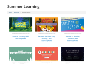 summer learning PBS