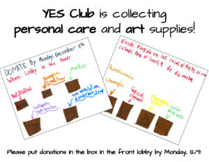 YES Club charity project