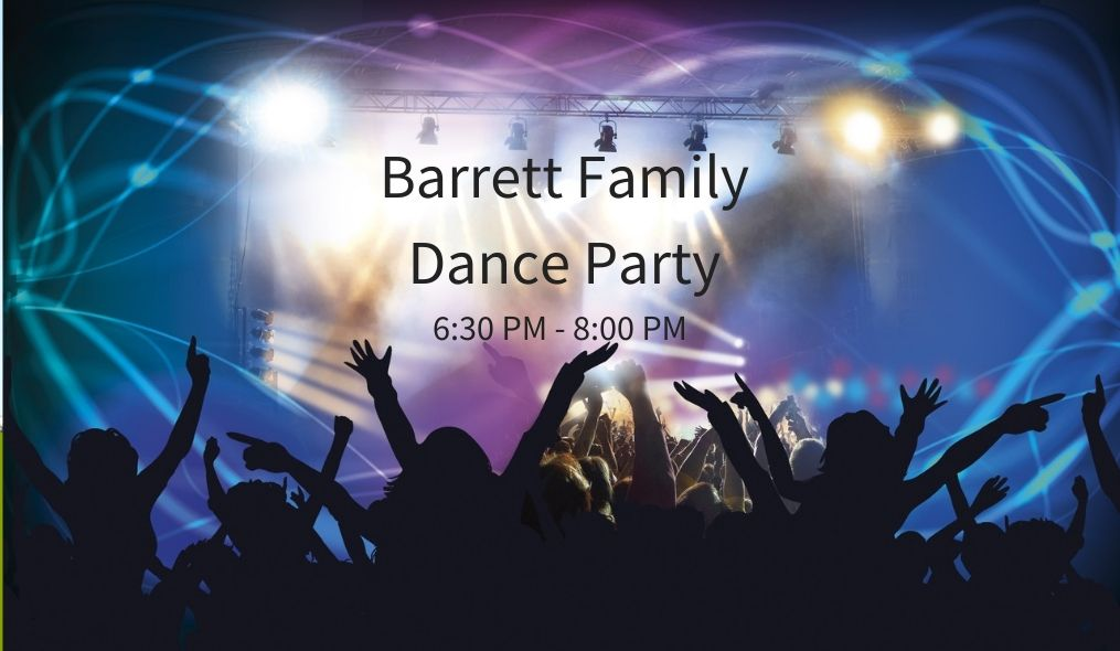 Family Dance Party Friday, February 21