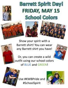 spirit day may 15
