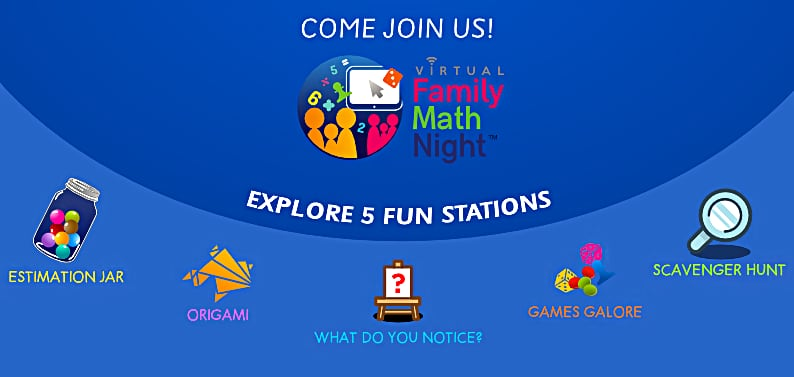 Virtual Family Math Night April 26