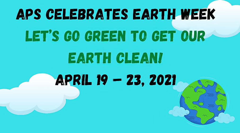 Arlington Public Schools Celebrates Earth Week #APSGreen