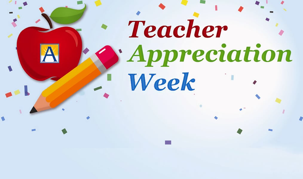 Let's celebrate our teaching heroes! It's Teacher Appreciation Week!